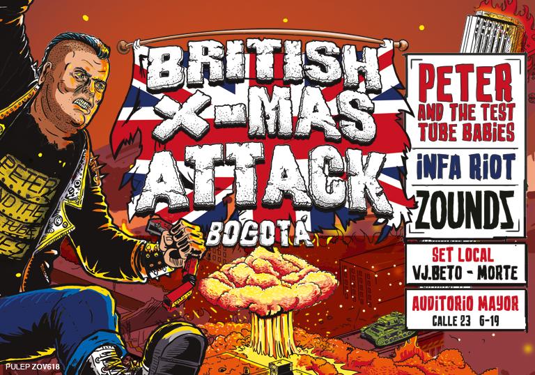 BRITISH X-MAS ATTACK